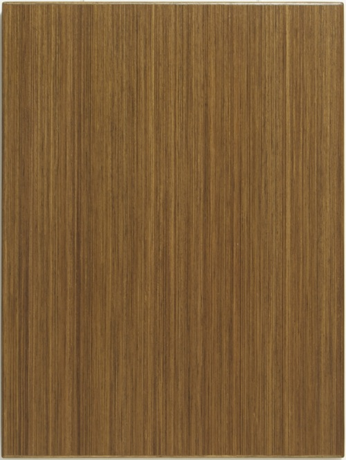 Wood Veneer Recon Slab Cabinet Door